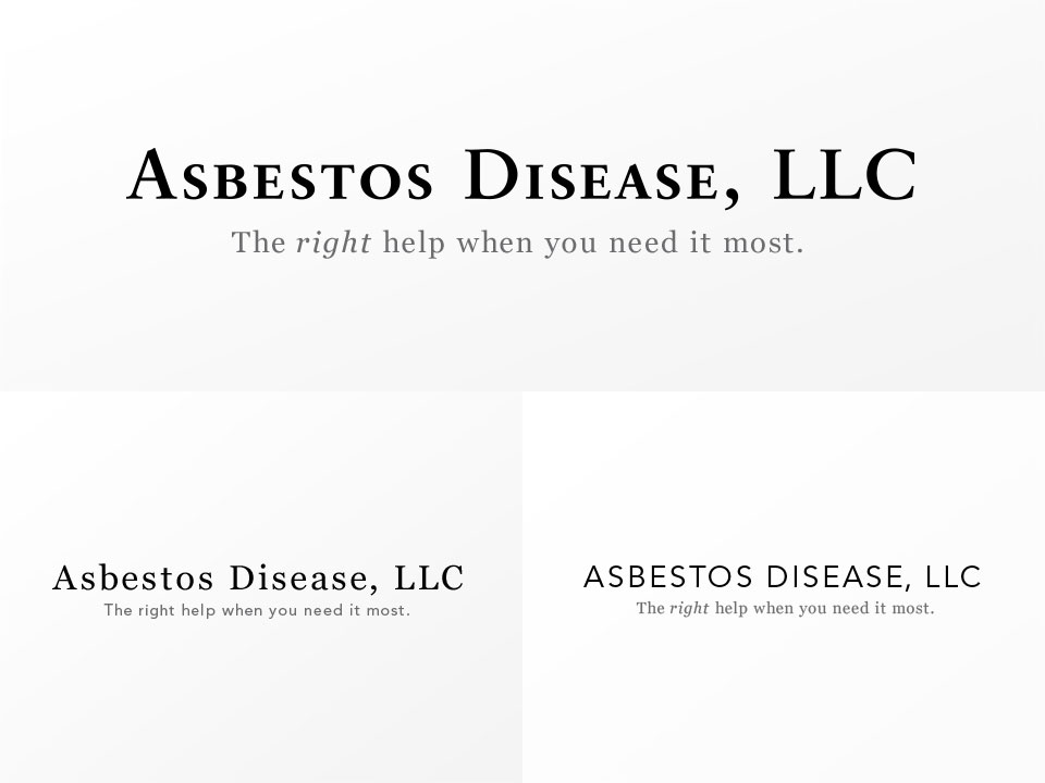 Asbestos Disease, LLC - Logo Sketch