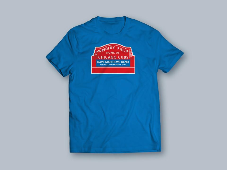 Dave Matthews Band - T-shirt front