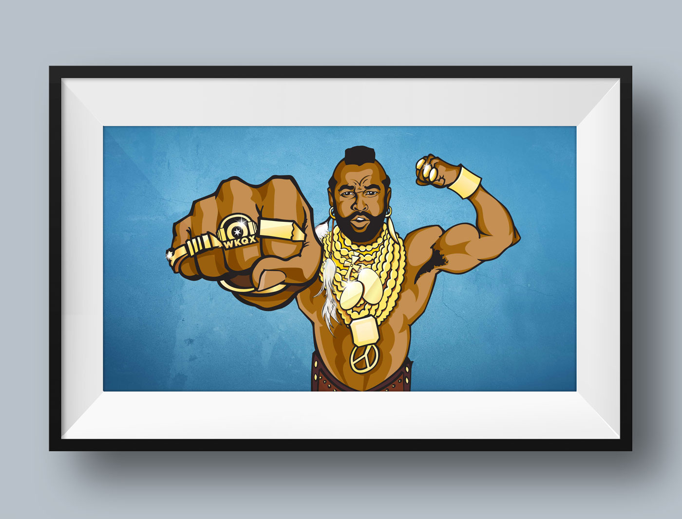 Mr. T Illustration