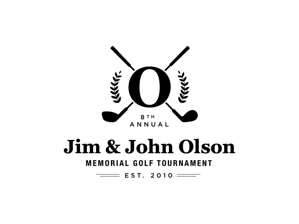 Jim & John Olson Memorial Golf Tournament - Final Logo