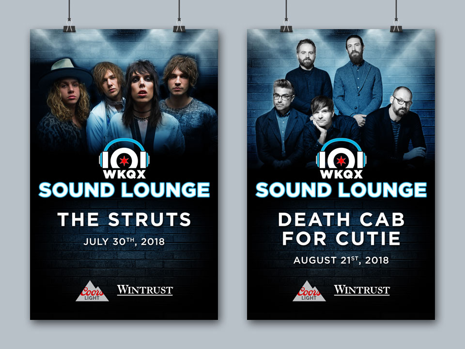 The Sound Lounge - Posters