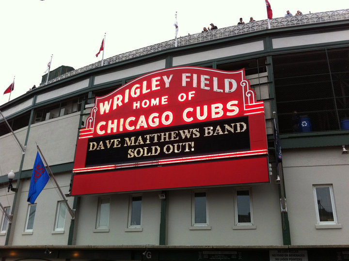 Wrigley Field marquee sign