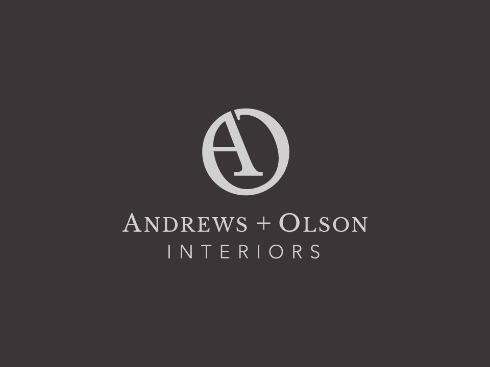Andrews + Olson Interiors - Final Logo