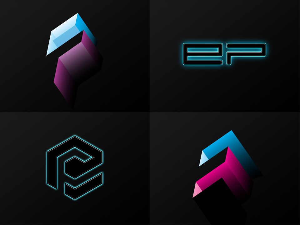 Electric Playground - Logo Sketches