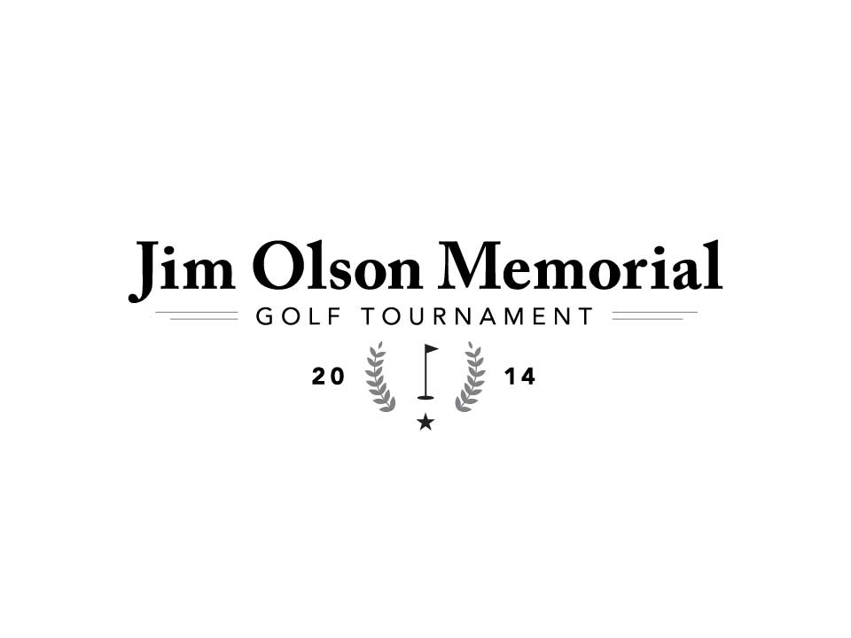 Jim Olson Memorial Golf Tournament - Final Logo