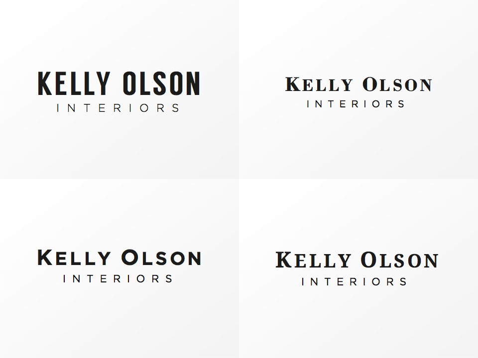 Kelly Olson Interiors - Sketches