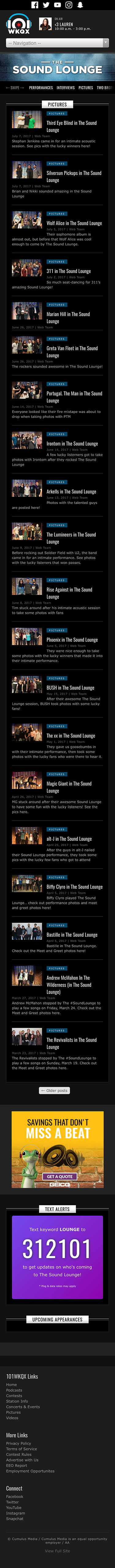 The Sound Lounge - Category Listing - Pictures - iPhone View