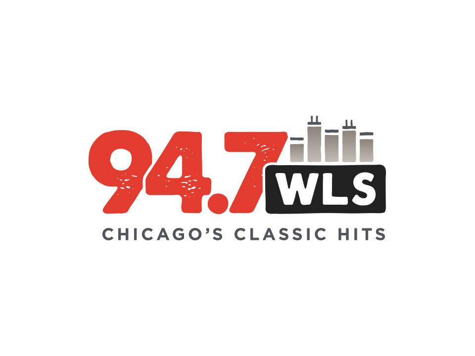94.7 WLS Logo - Light Background