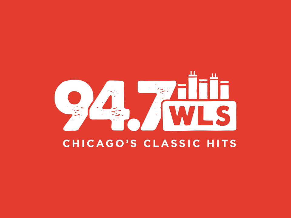 94.7 WLS Logo - One-Color