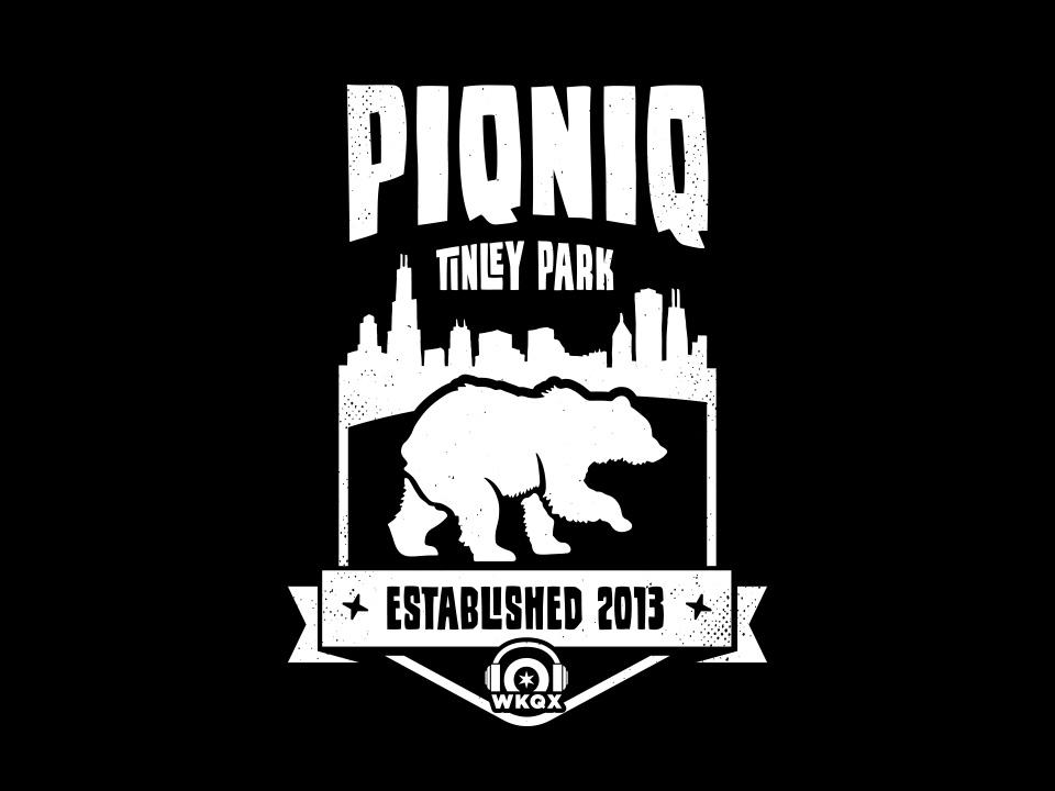 PIQNIQ T-shirt detail