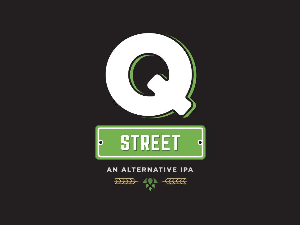 Q Street Beer - Concept Logo
