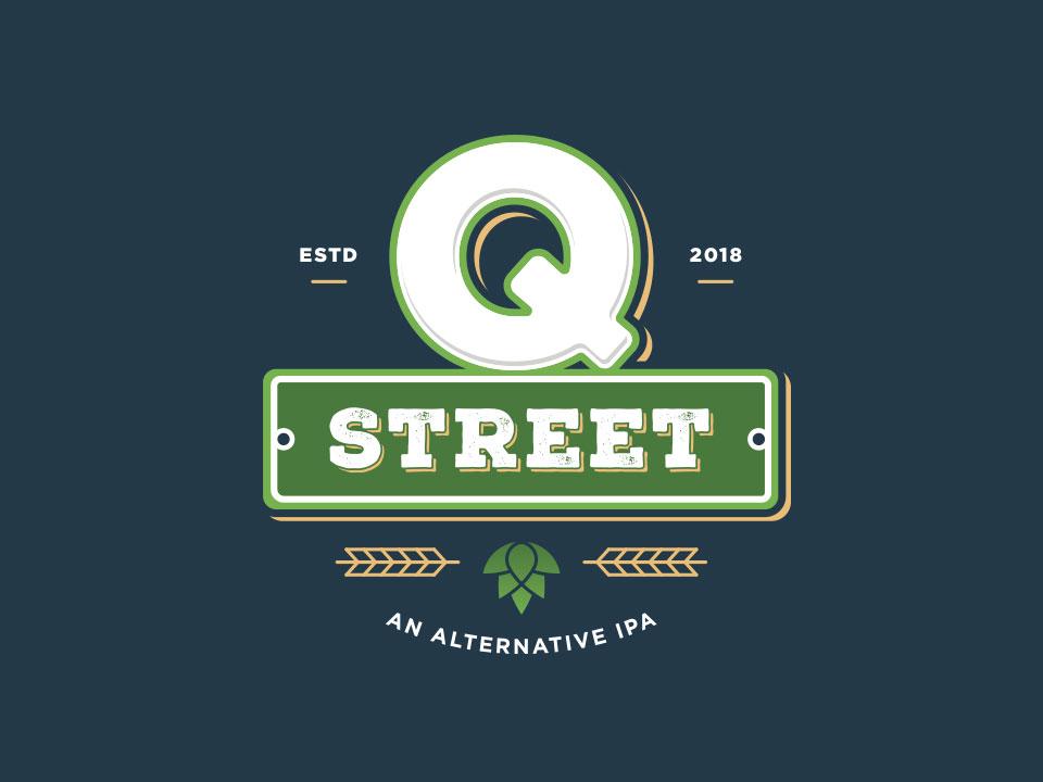 Q Street Beer - Final Logo