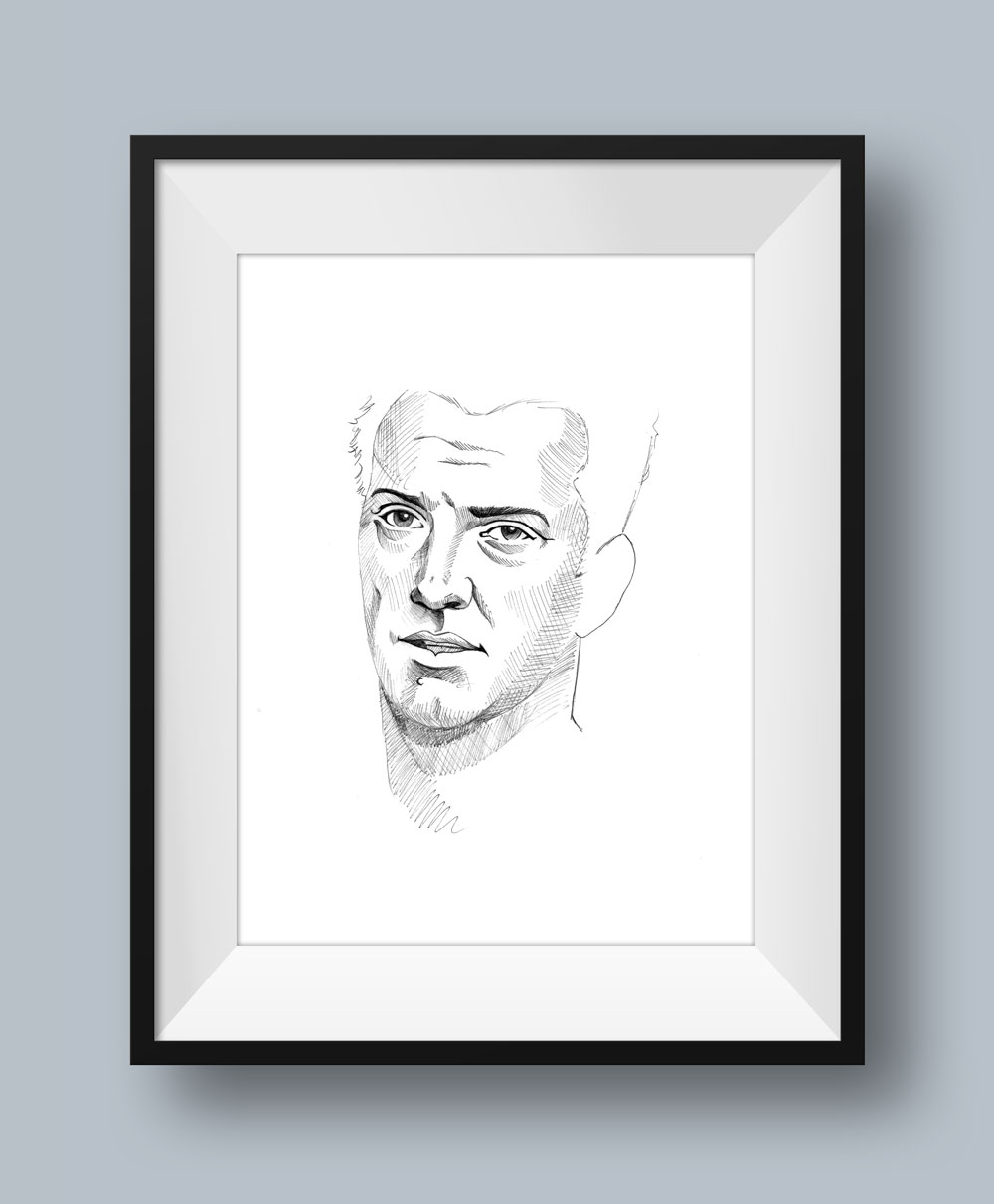 Josh Homme Illustration
