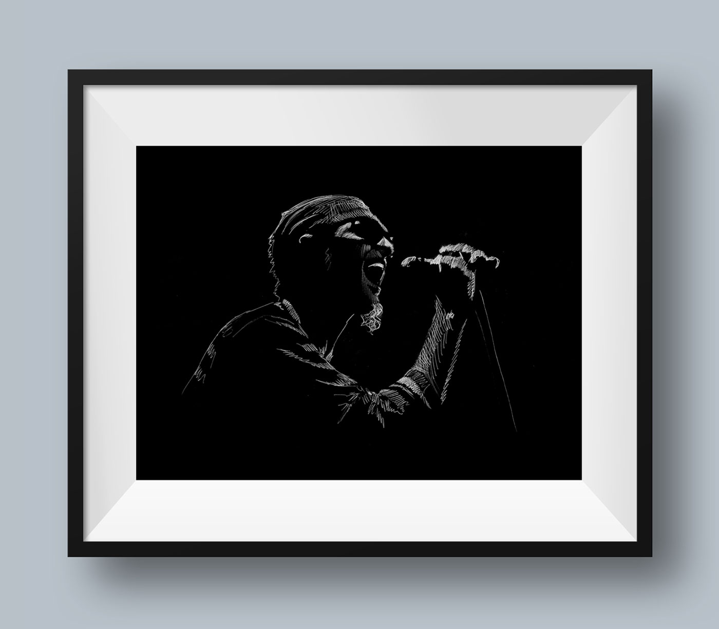 Layne Staley Illustration
