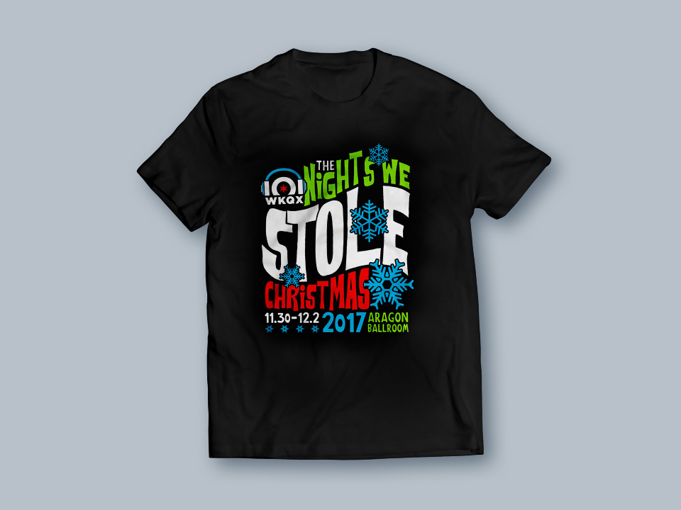 The Nights We Stole Christmas t-shirt