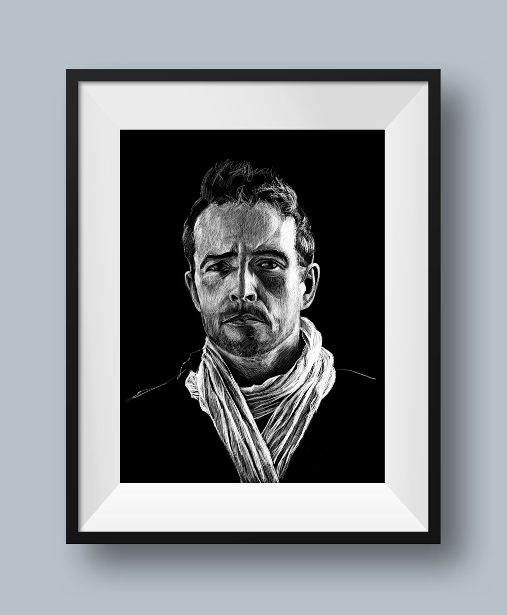 Scott Weiland Illustration