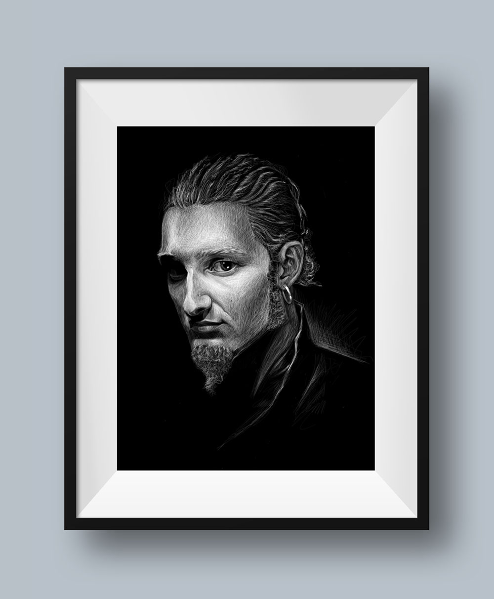 Layne Staley Portrait