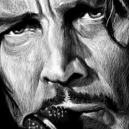 Chris Cornell #2 detail