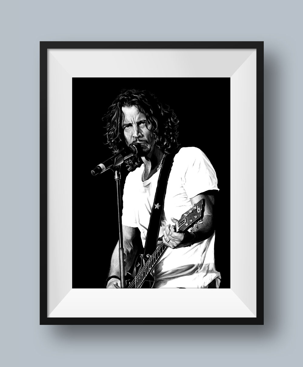Chris Cornell #2 Illustration