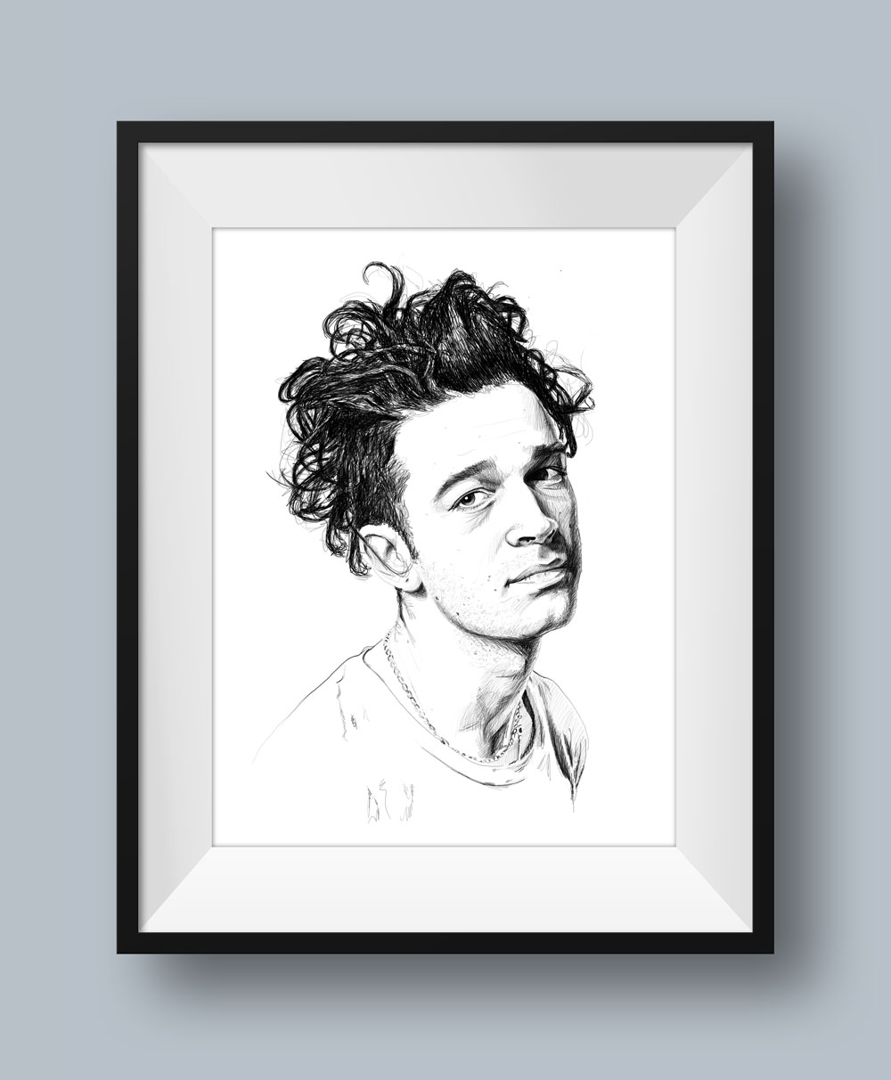 Matty Healy Illustration